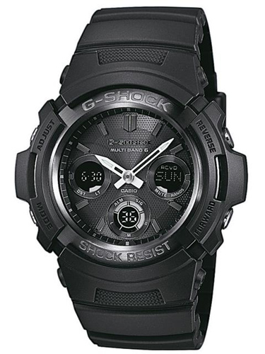Montre Casio G-Shock AWG-M100B-1AER solaire