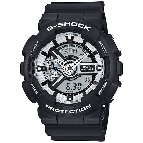 *Montre Casio GA-110BW-1AER