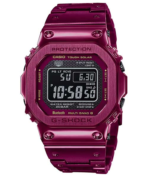 Montre Casio GMW-B5000RD-4ER solaire