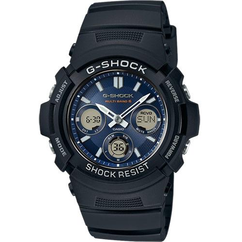 Montre Casio G-Shock AWG-M100SB-2AER solaire