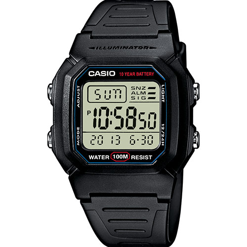 Montre Casio W-800H-1AVES